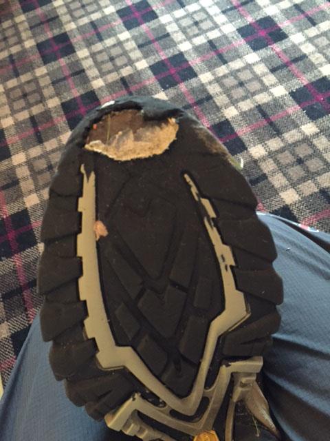 Boots failing